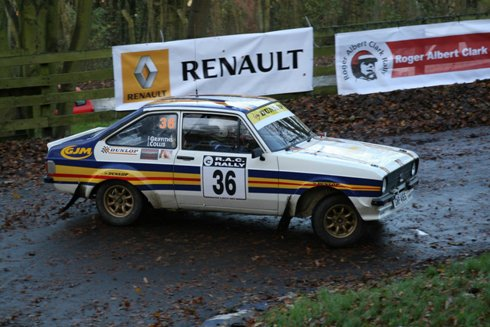 January 5th 2011: Griffiths plans British Historic Rally Championships campaign